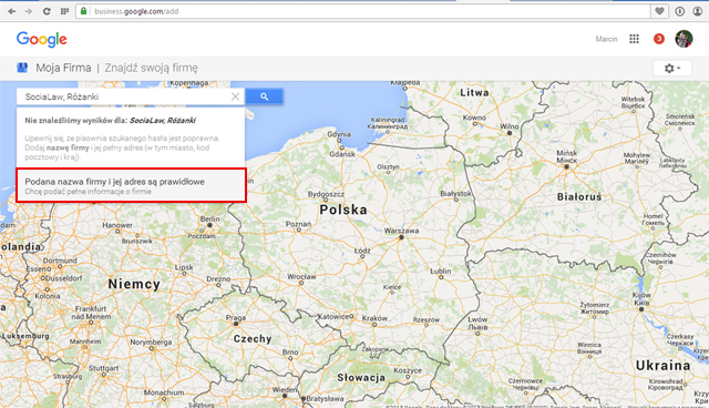 dodawanie do google maps