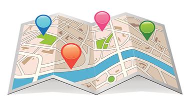 mapy google, firma w mapkach